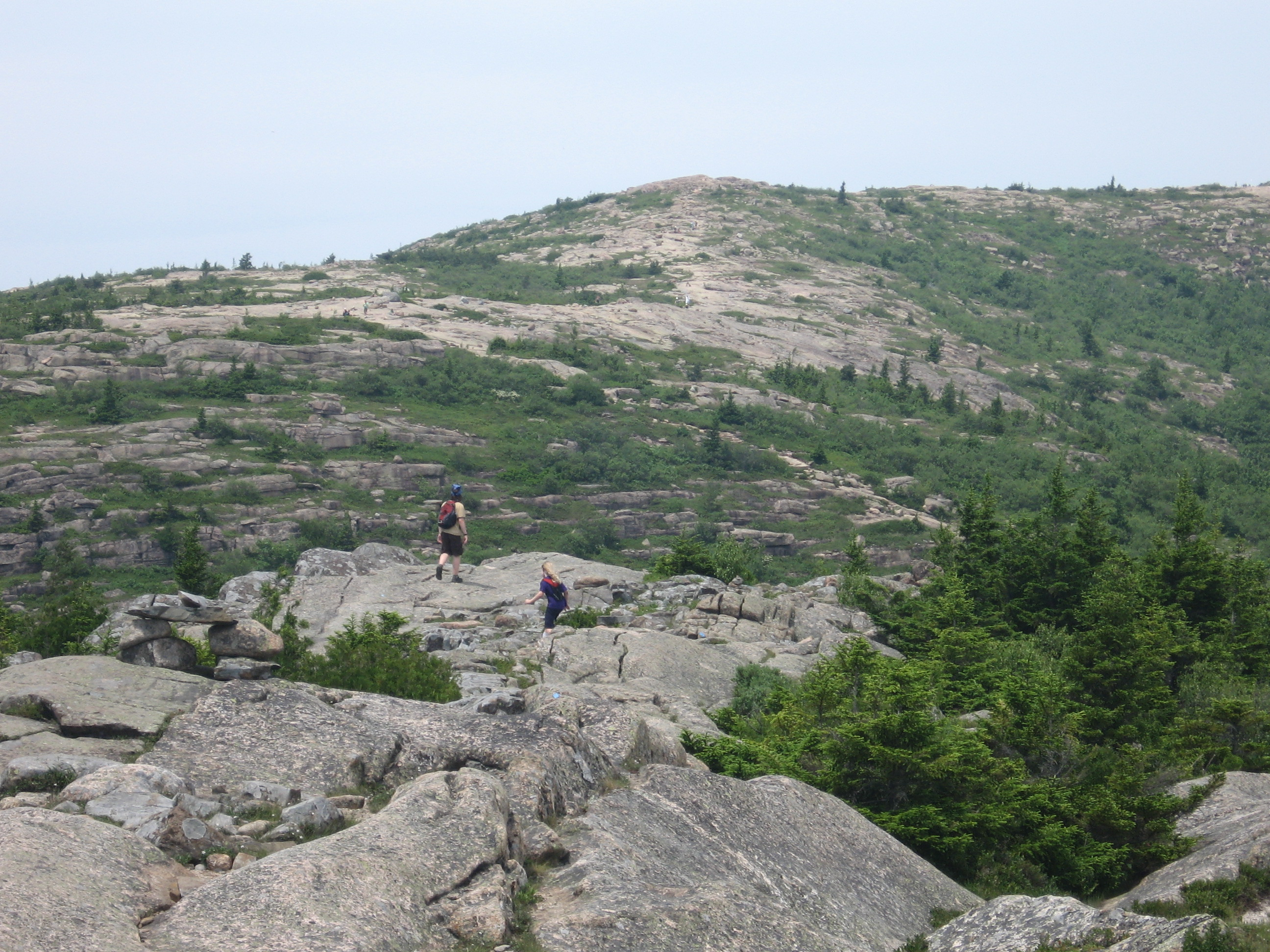 Trip to Maine - Cadillac Mountain Hike | embiggen